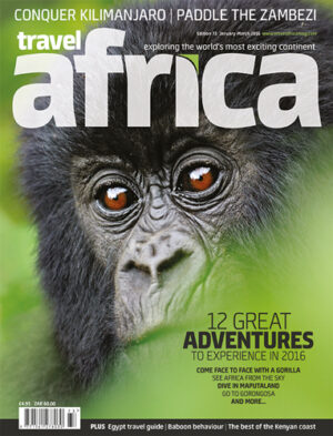 Travel Africa issue 73 cover