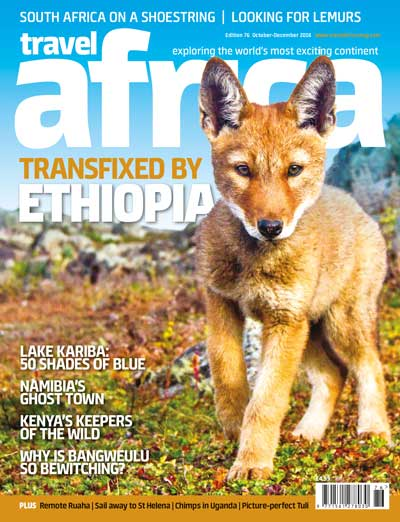 Travel Africa issue 76 cover