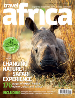 Travel Africa issue 80 cover