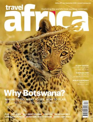 Travel Africa issue 87 cover