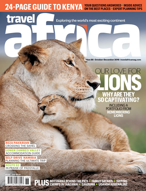 Travel Africa issue 88 cover