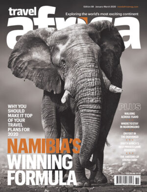 Travel Africa issue 89 cover
