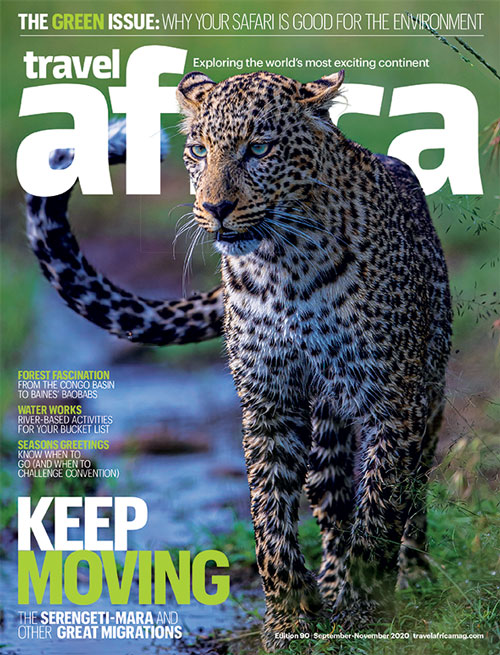 Travel Africa issue 90 cover