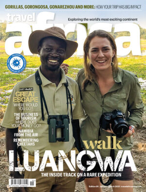 Travel Africa issue 91 cover