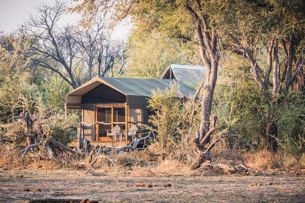 Luxury safari tent, Okavango Delta, Botswana by Dietmar Rauscher, Shutterstock (Travel Africa magazine)