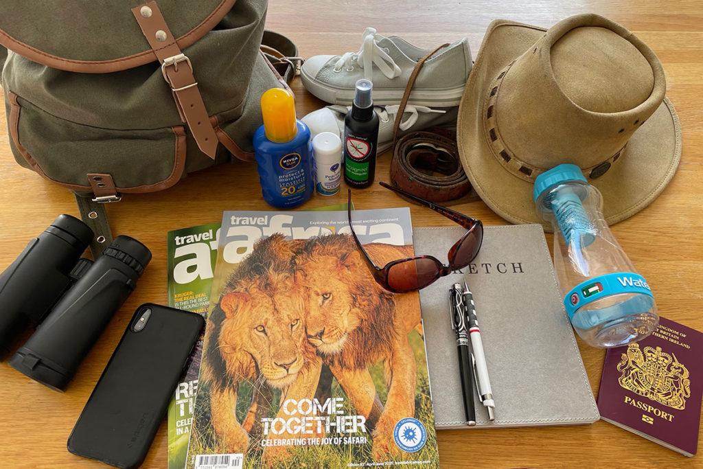 Safari packing list, Travel Africa magazine